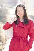 Smiling woman — Foto de Stock