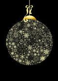 Christmas Ball Background — Stock Photo