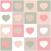 Corações na moda — Foto Stock
