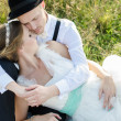 Vintage wedding — Stock Photo