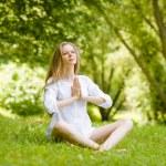 Yoga style — Stock Photo #28971661