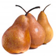 Pears on white background — Stock Photo