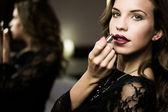 Woman make-up — Стоковое фото