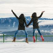 Grupo de personas felices divertirse — Foto de Stock