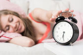 Alarm clock, wake up concept — Stock Photo