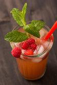 Fruit lemonade — Stock Photo