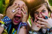 Festival Menschen — Stockfoto