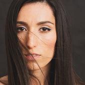 Brunette woman stock photo — Stock Photo