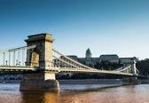 Ponte Széchenyi Lánchíd — Fotografia Stock