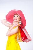 Woman — Stock Photo