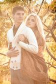 Casal feliz — Fotografia Stock