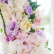Stock Photo: Wedding arch with closeup detail