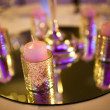 Decorative candles — Stockfoto