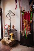 Traditional ukrainian decorations — Stock Photo
