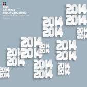 New Year celebration background,2014 year — Stockvektor