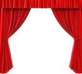 窗帘 — 图库照片
