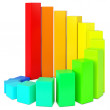 Colorful chart — Stock Photo #46951743
