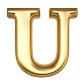 Letter U — Stock Photo