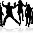 Party People Dancing  — Imagen vectorial