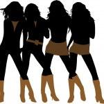 Fashion women — Stock Vector #38984937