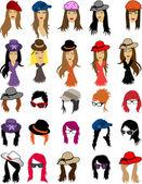 Women's fashion — Stock Vector