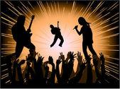 Konsert — Stockvektor