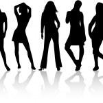 Fashion Women 3 — Stock Vector