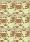 Tea and Coffee — Stock Vector