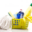 Stock Photo: Cleaning items set