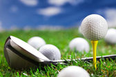 Lets play a round of golf! — Stock Photo