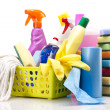 Cleaning items set — Stock Photo #15792505