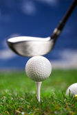 Lets play in golf! — Stock Photo