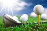 Kan spela golf! — Stockfoto
