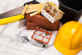 Building and construction equipment — Stock Photo