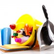 Cleaning items set — Stock Photo #16264219