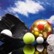 Sport theme! Balls — Stock Photo