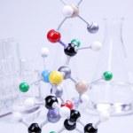 Molecules in laboratory! — Stock Photo #3457147