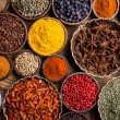 A selection of spices — Stock Photo #36735269