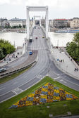 Budapest Chain Bridge — Stock Photo