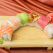 Sushi-  refreshment vegetarian — Foto de Stock