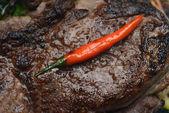 Stekt nötkött — 图库照片