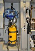 Portable oxygen recharge — Stock Photo