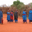 Stock Photo: Masai tribe women