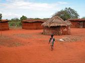 Masai tribe child — Stock Photo