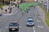 Runners race — Stock Photo