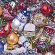 Background of Christmas decorations — Stock Photo #14161880