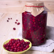 Cranberry-prepared for long-term storage — Stock Photo
