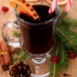 Christmas mulled wine — 图库照片