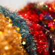 Colorful Christmas garlands (many colors) — Stockfoto #14492283