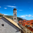 Beautiful panorama of Dubrovnik, Croatia — Stock Photo